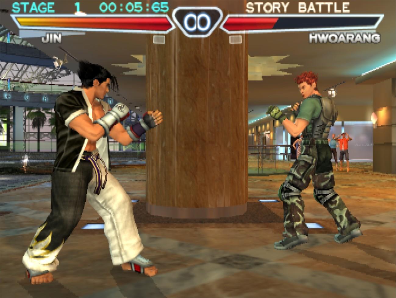 Image - Jin Versus Hwoarang Tekken 4.jpg   Tekken Wiki ...