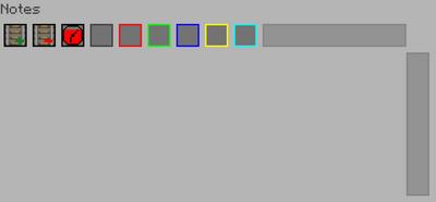 Note Sequenser Interface Main