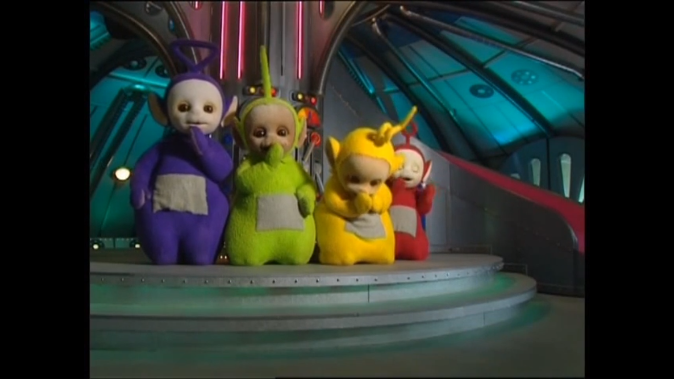 Image Tubbiesbeingveryquiet Png Teletubbies Wiki