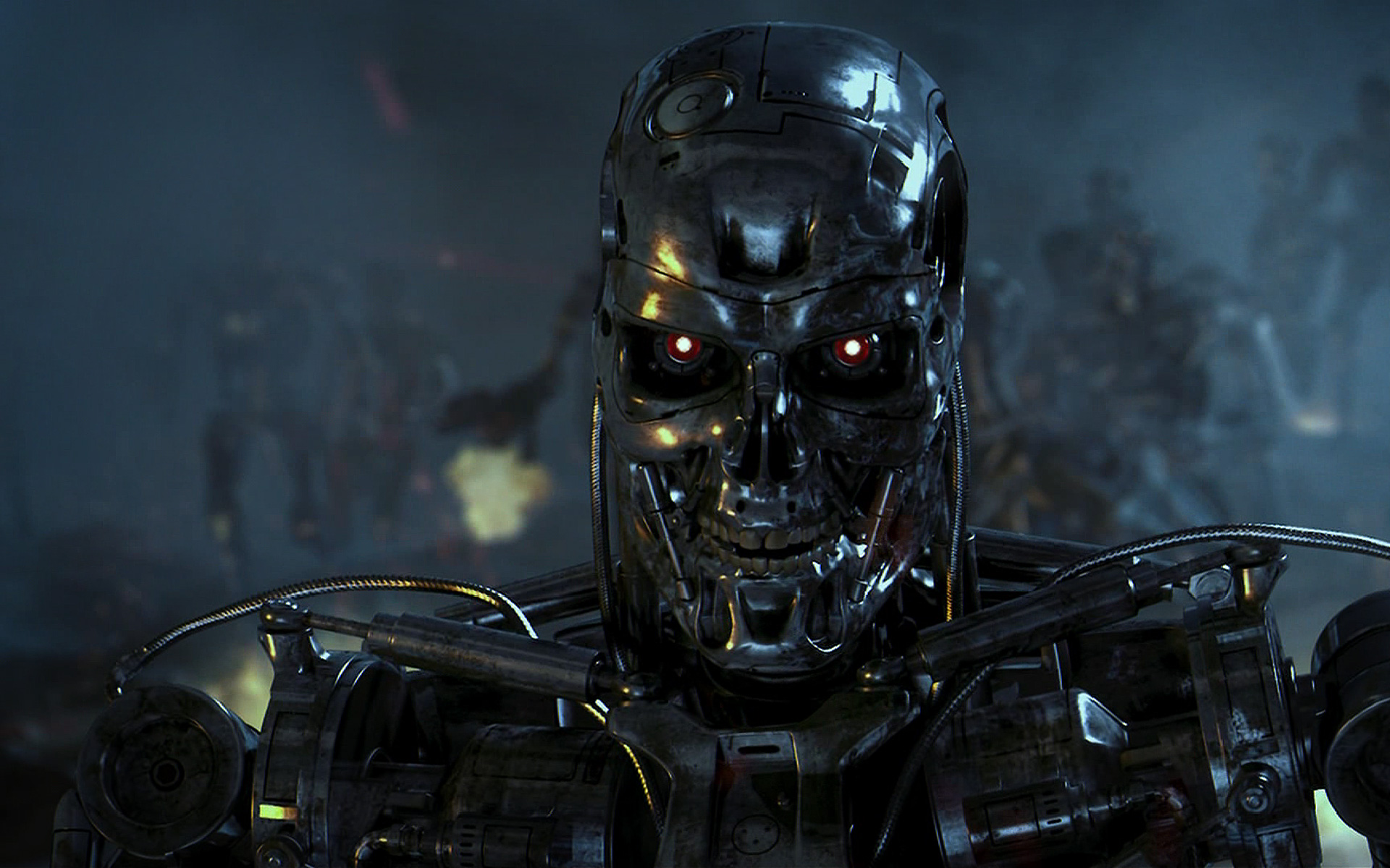 Terminator t101 - Movies & Entertainment Background Wallpapers on ...