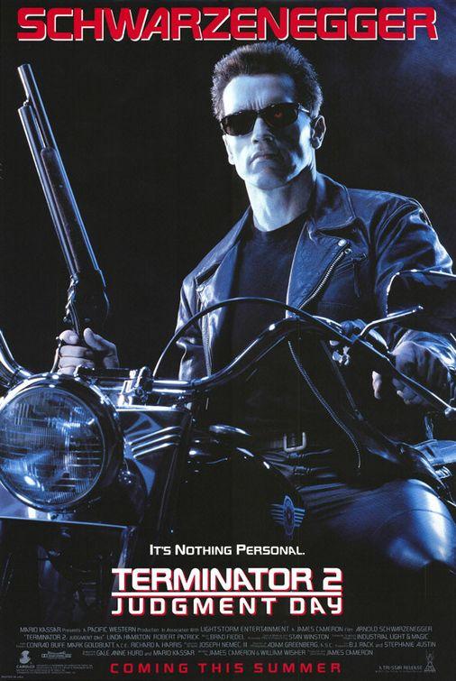 Image result for terminator 2 poster