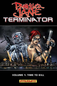 PAINKILLER JANE VS. TERMINATOR VOL. 1 TPBTPBCov