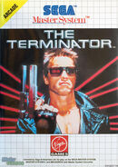 The Terminator Master System front