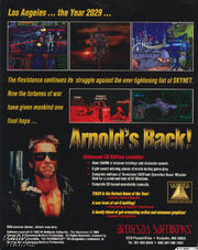 The Terminator- 2029 Deluxe CD Edition Back Cover