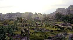 Brachiosaur Herd