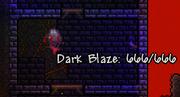 Dark blaze, police