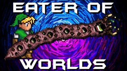 Terraria - Eater of Worlds - Terraria Early Game Guide Shuriken vs Eater of Worlds Boss Terraria HERO