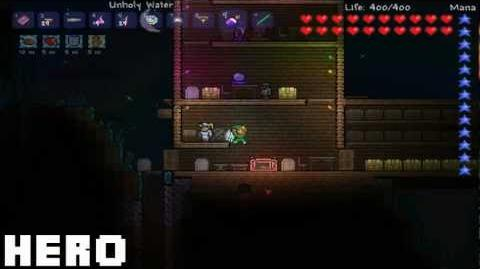 Unholy Water Terraria HERO