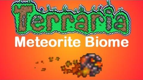 Terraria Meteorite Biome