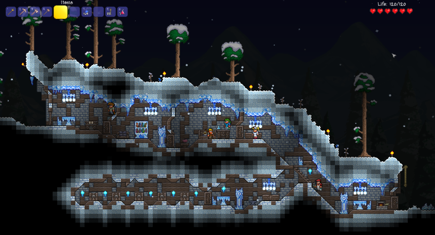 Image Ice Themed House Png Terraria Wiki Fandom