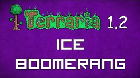 Ice Boomerang