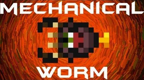 Mechanical Worm Terraria HERO