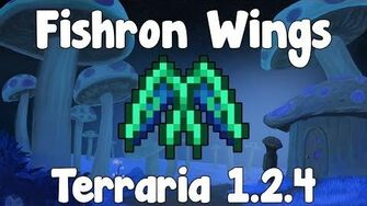 Fishron Wings - Terraria 1.2