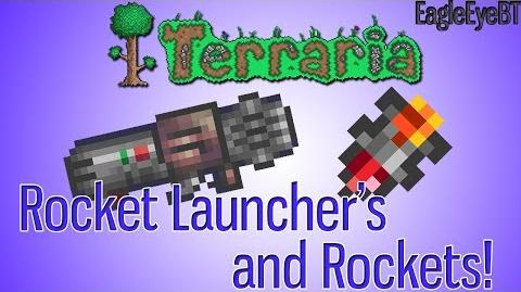 Terraria Rocket Launcher and Ammo! Explosive Weapon! Help and Howto!-1