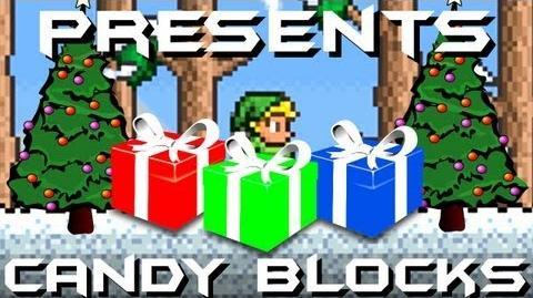 Presents Candy Cane Blocks Terraria HERO