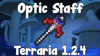 Optic Staff , Twins Summoner Pet! - Terraria 1.2