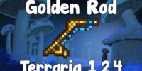 Golden Fishing Rod