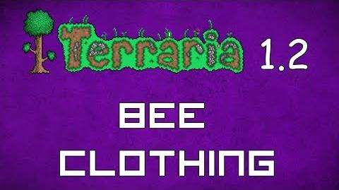 Bee Clothing - Terraria 1