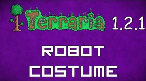 Robot Costume - Terraria 1.2