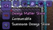 Summons Omega Slime