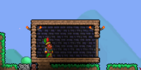 Obsidian Brick Wall