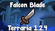 Falcon Blade , Pixel Piracy Blade! - Terraria 1.2