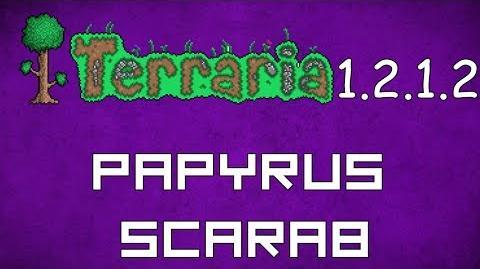 Papyrus Scarab