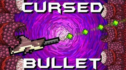 Cursed Bullet Wall of Flesh Megashark Terraria HERO