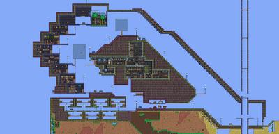 Mudstone house - full