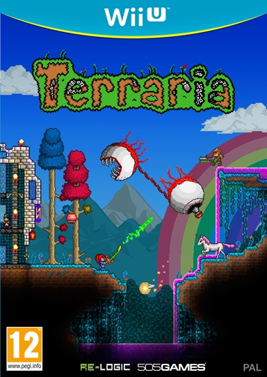 2D Terraria-WiiU PEGI