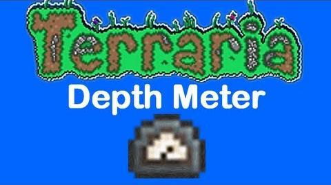 Terraria Depth Meter