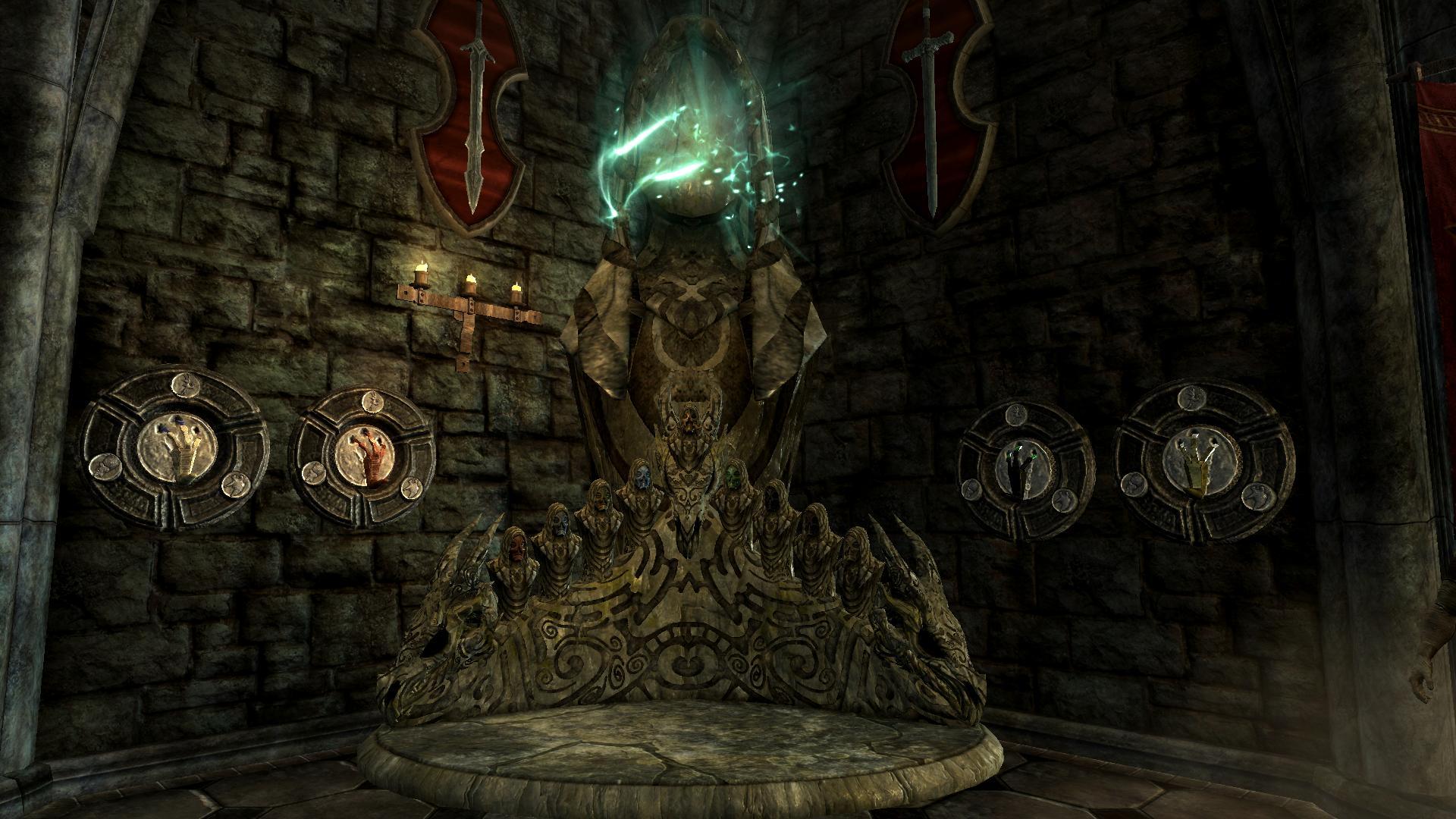 Dragon Priest Mask Display The Elder Scrolls Mods Wiki
