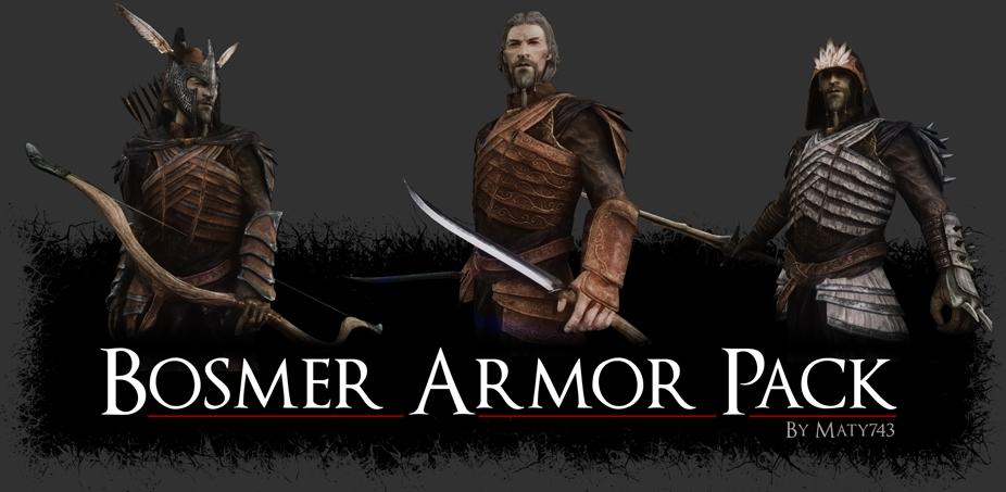 Bosmer Armor Pack The Elder Scrolls Mods Wiki Fandom