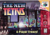 The new tetris boxart