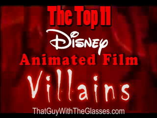 38 Nostalgia Critic - Top 11 Disney Villains