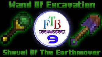 Wand Of Excavation Shovel Of The Earthmover Thaumcraft 3 FTB LITE Tutorial 9-0