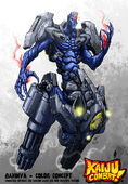 Kaiju combat gandiva by kaijusamurai-d5rr4kp
