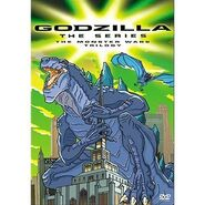 Godzilla the Series The Monster Wars Trilogy DVD
