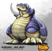 Kaiju combat macrosaurus by kaijusamurai-d5klvi1