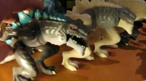 TRENDMASTERS Animated GODZILLA THE SERIES UNRELEASED PROTOTYPES