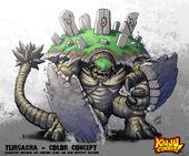 Kaiju combat tursacra by kaijusamurai-d5vfhfe
