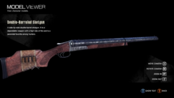 Double Barrel shotgun model viewer