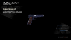 Handgun model viewer