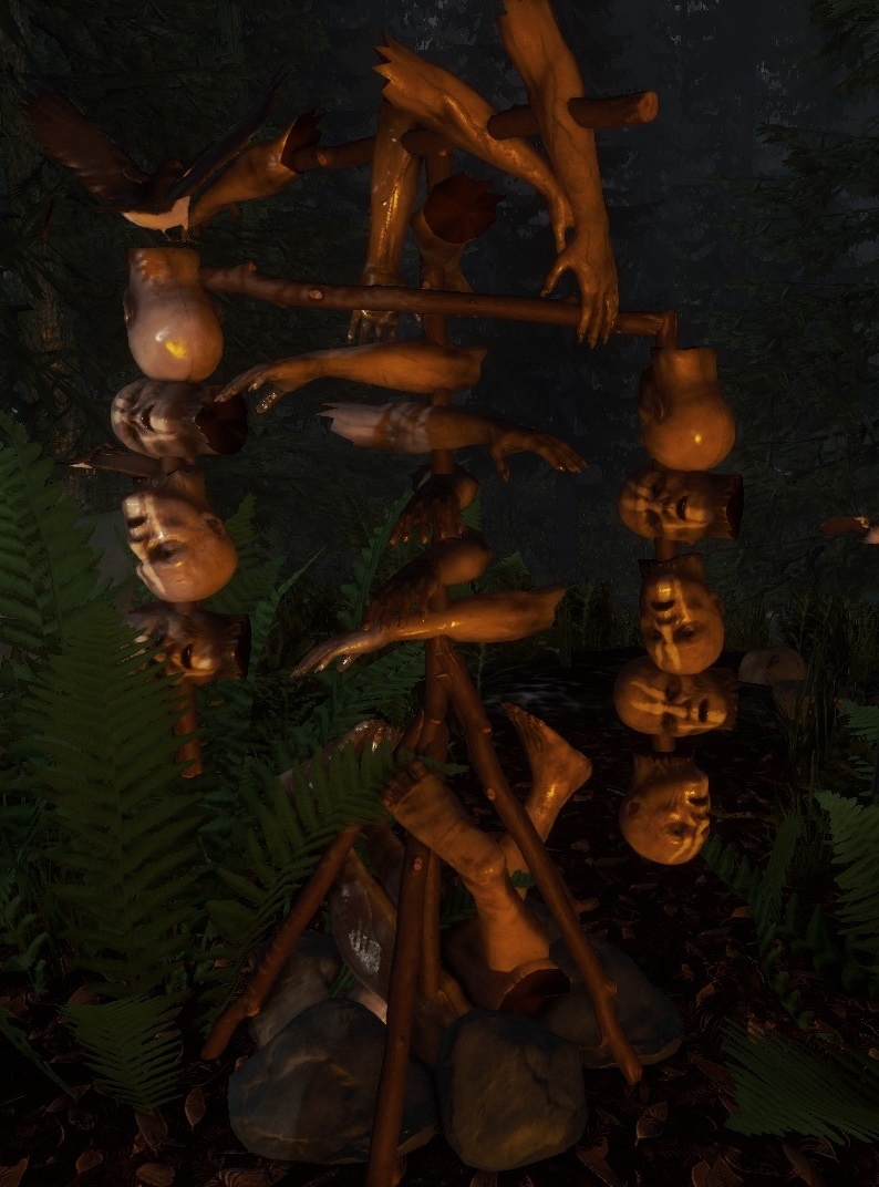 Large Effigy The Forest Wiki Fandom Powered By Wikia