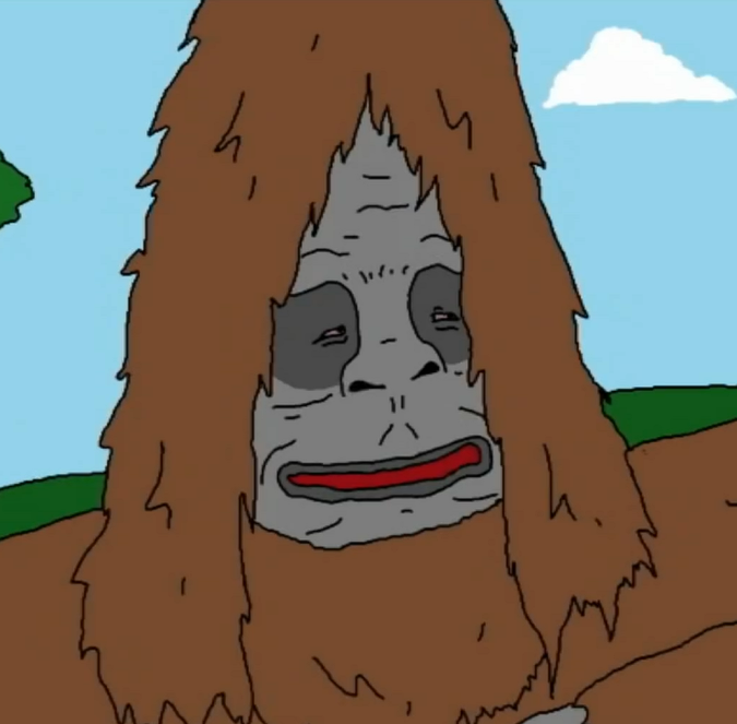 Image result for sassy the sasquatch