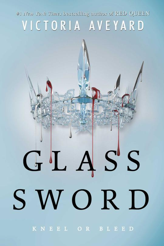 Glass Sword by Victoria Aveyard (Red Queen #2) ARC