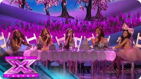 "Fifth Harmony ""Anything Could Happen"" - THE X FACTOR USA 2012"
