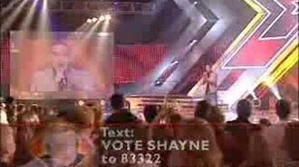 Shayne performs 'I Believe In A Thing Called Love'