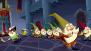S2e20a 7d pushing the gnomes away with their hockey sticks