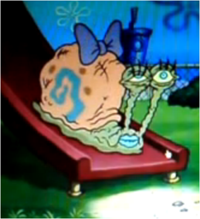 Ugly Spongebob Image - Very Ugly Snai...